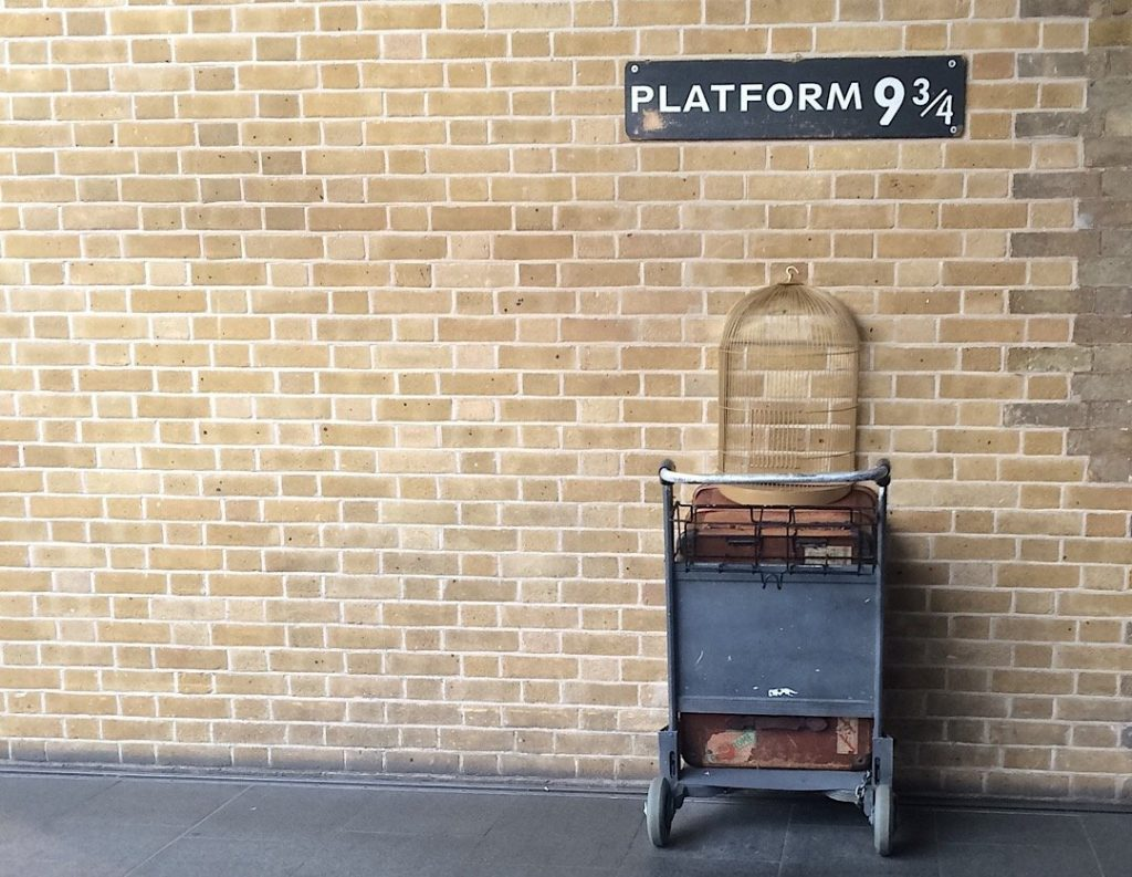 The Harry Potter Platform 9¾