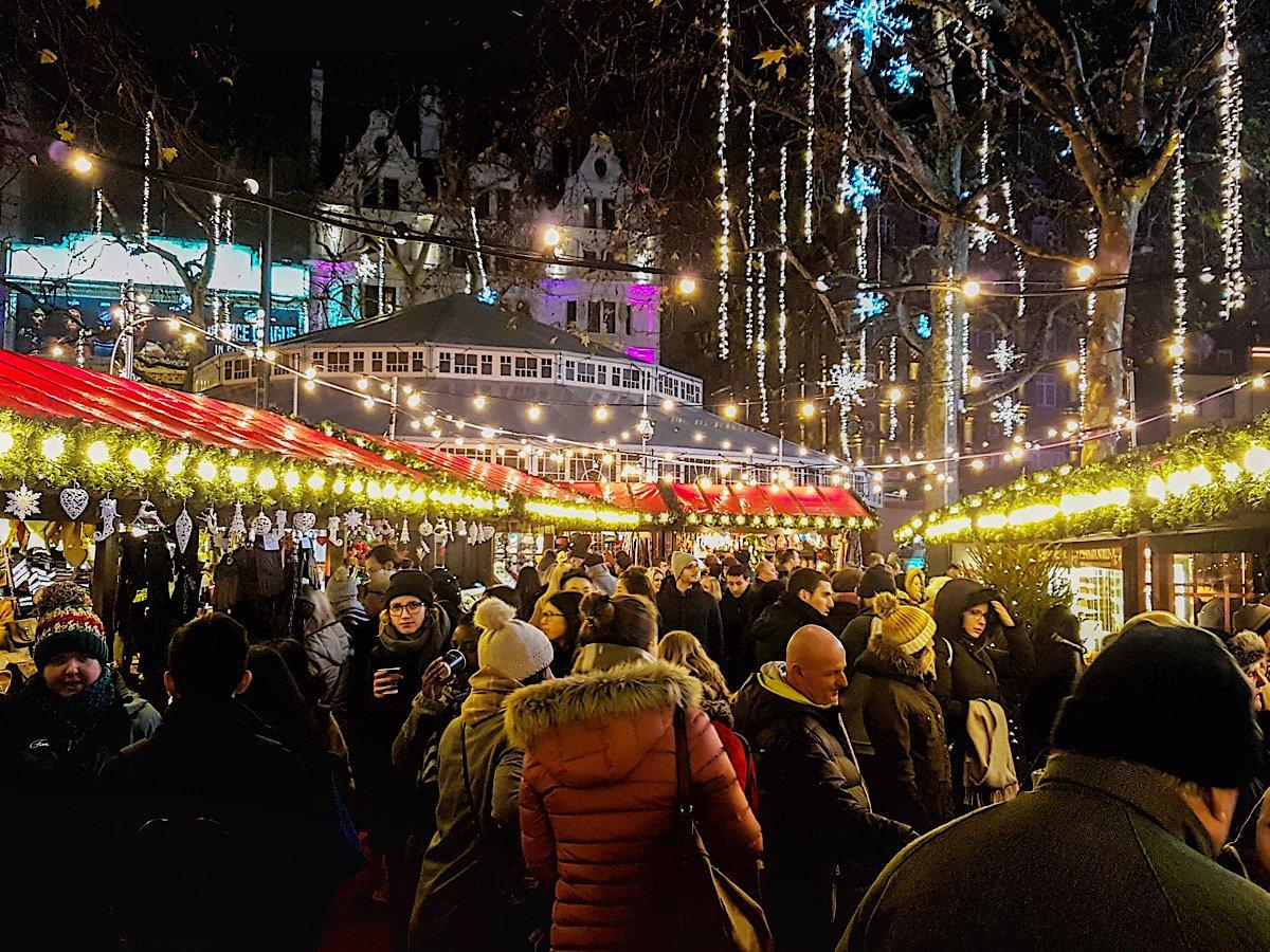 Leicester Square Christmas Market, рождественские ярмарки