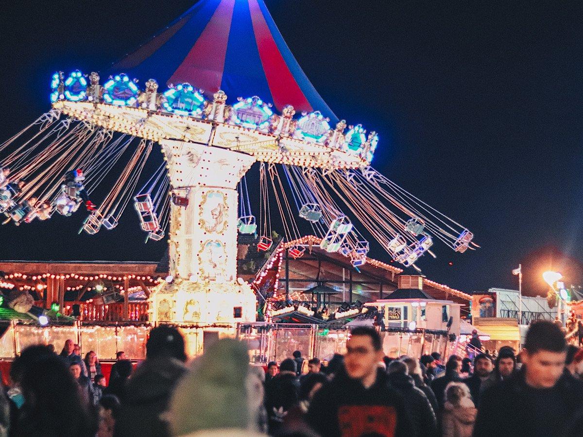 Winter Wonderland, рождественские ярмарки